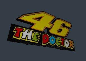 46 The Doctor à imprimer en 3d